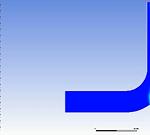 تحلیل یک زانو مخلوط کننده در Fluent