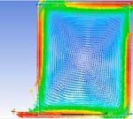 مدلسازی جریان سیال در یک ظرف با دیواره متحرک در Fluent
