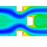 شبیه سازی جریان های پریودیکی به همراه انتقال حرارت در ansys fluent