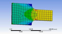 مدلسازی تمرکز تنش در نرم افزار Ansys