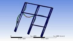 تحلیل مودال و استاتیکی یک ساختمان در نرم افزار Ansys