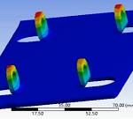 تحلیل پایه جک بالابر اتومبیل در نرم افزار Ansys Workbech