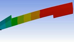 قید گذاری به صورت معادله بر روی یک قاب در نرم افزار Ansys Workbench