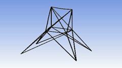 تحلیل سازه سه بعدی در نرم افزار Ansys