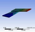 مدلسازی اتصال دو قطعه به یکدیگر در نرم افزار Ansys