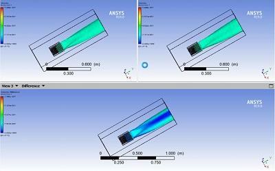 خنک کاری یک برد الکترونیکی به روش همرفت طبیعی و تابش در CFX