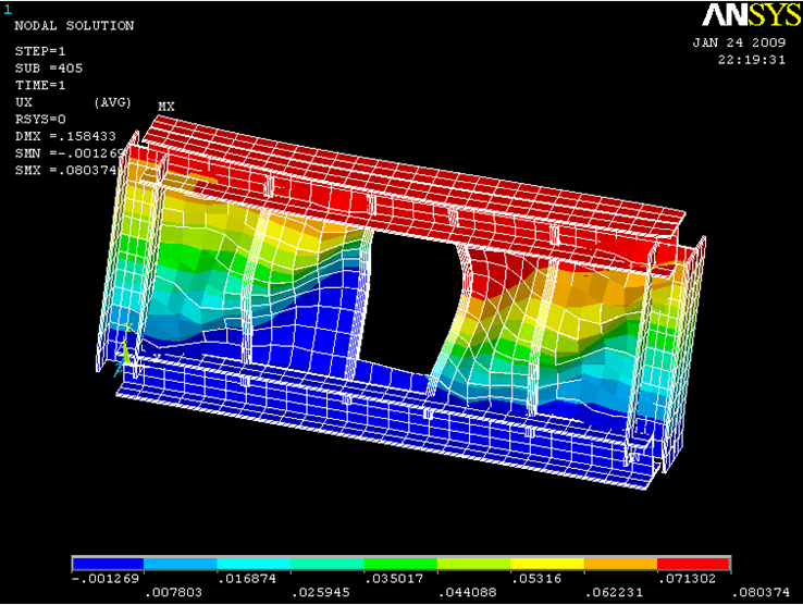 بررسی اثرات انواع سخت کنندههای قائم و مورب بر رفتار دیوار برشی فولادی بازشودار