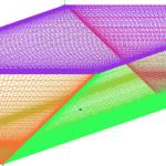 بررسی عددی سلولهای جریان ثانویه، توزیع سرعت و تنش برشی در جریان کانالهای ذوزنقهای
