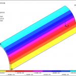 تحلیل تنش-کرنش در مخازن استوانهای جدار ضخیم با مقطع بیضوی تحت تأثیر فشار داخلی