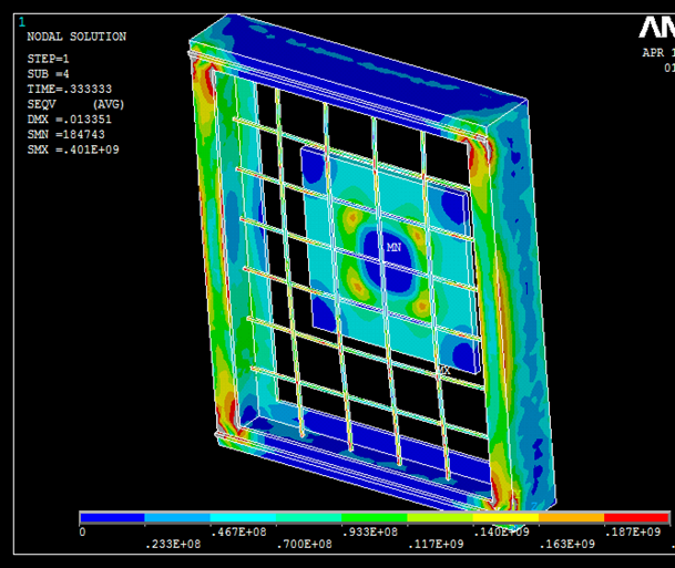 مدلسازی تجربی و عددی و بررسی رفتار خارج از صفحهی (OP) عناصر میانقاب آجری با ملات ماسه سیمان، تسلیح شده با آرماتور ، تحت بار شبه استاتیکی