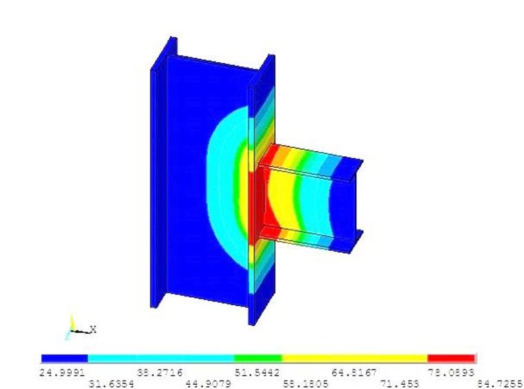 مطالعه توزیع تنشهای پسماند و تغییر شکلهای ناشی از عملیات جوشکاری در اتصالات خمشی قابهای فولادی به روش اجزا محدود