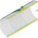 تحلیل شیکدان مخزن استوانهای تحت فشار داخلی و بارگذاری خمشی روی انشعاب شعاعی